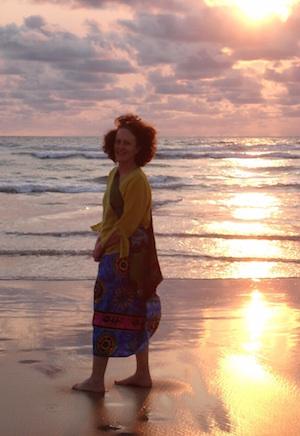 Sue Ingram at sunset