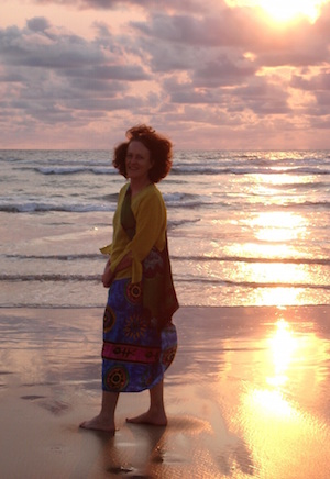 Sue Ingram at sunset